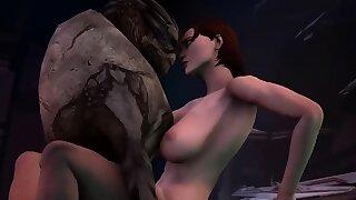 Mass Effect sex..