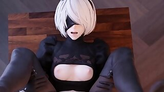 Handsome 2B with Huge Butt Perfect..