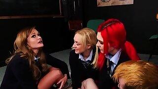 CFNM schoolgirls..
