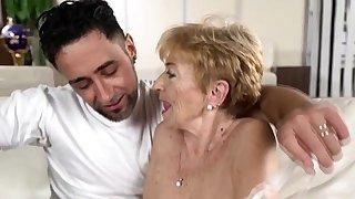 Cock loving granny..