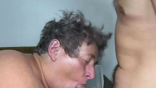 Huge Horny Grandma..