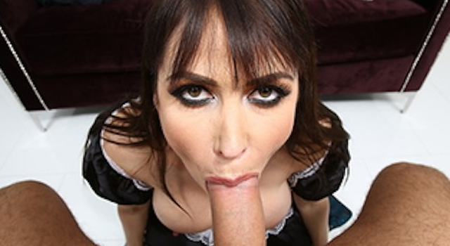 Spectacular maid..